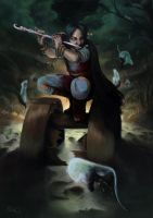 Pied Piper of Hamelin by ArtOfBenG