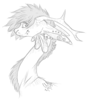 Sketches : Dragon Design by Rhisper