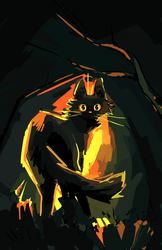 Spoopy Cat by Nifty-senpai