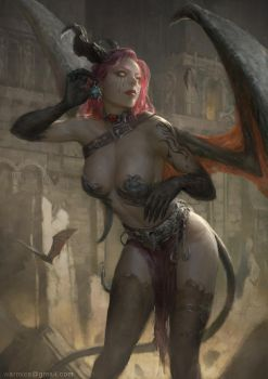 Heretica - Succubus Rain by Warmics
