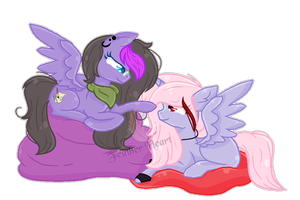 .:Gift:. [[I can boop you good from up here]] by MLPCrystalHarmony