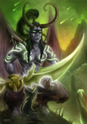 Illidan - WoW by VoidmageHusher