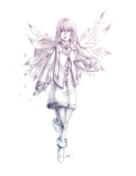 The Angel by sporkful-of-hearts