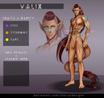 - closed - 24H AUCTION - Valix #143 by CherrysDesigns