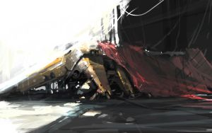machine speed painting by artcobain