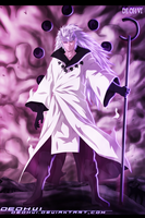 Naruto 663 - Madara Sage Of Six Paths - Coloring by DEOHVI