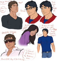 Smallville Fancomic Concepts I by Harseik