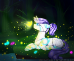 Deep In The Forest (Commission) by AngelaPie