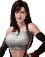Tifa Lockhart by iDNAR