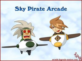Sky Pirate Arcade by fab-wpg
