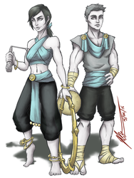 Wii  Fit Trainer: Olympian by CoronaDiTempesta
