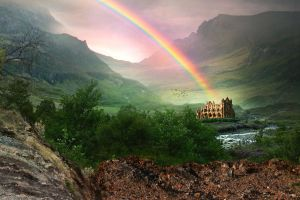 Rainbow Valley by PatriciaRodelaArtist