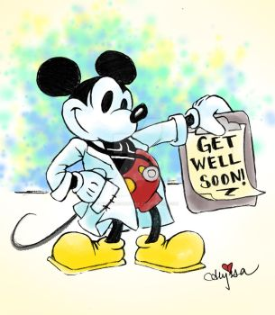 Dr. Mickey by SteamboatLyssie