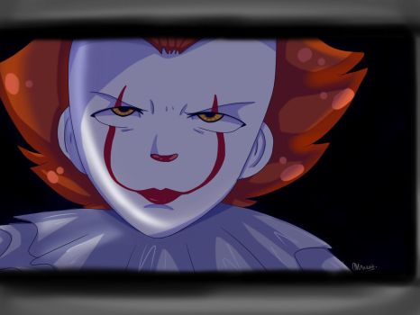 PennyWise as anime by Jum10