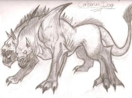 Cerberus by forgot-to-be-human2