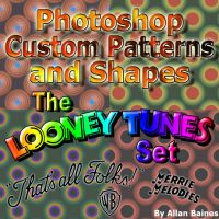 Looney Tunes Shapes + Patterns by YesOwl