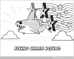 Flying Shark Deluxe by Wenamun
