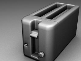 Toaster Tutorial Modelling by MrBender