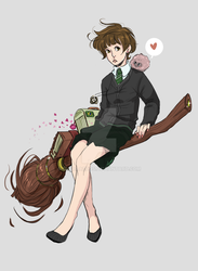 Azuos Slytherin by ClaraAzuos