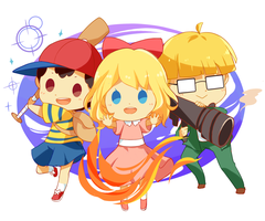 Mother 2 by OrangeMouse
