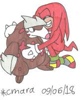 Knuckles congrats his Excadrill