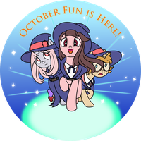 My Little Witch Academia by Nstone53