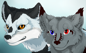 [CM] Quear and Lakui by IceriftFyera