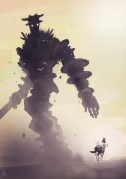 Shadow of the Colossus by aaydo