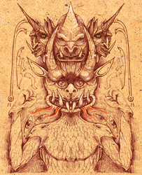 ANCIENT DEMONS by amota