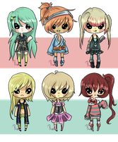 Girls and Stuff {Auction - Open} by Ruruuni