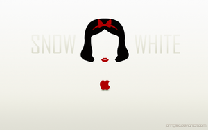 DISNEY MINIMALIST: Snow White by archibaldart