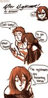 Sol and Brok: After The Nightmare... by SolKorra