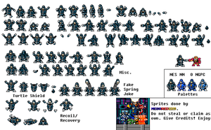 Hard Man Custom Sprite by MegaRed225