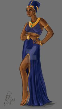 Egyptian Queen by ElisitaGayle