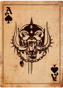 Ace of Spades by mortykus