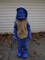 Quaggan costume with mask by Koreena