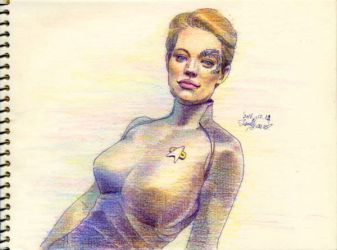 Seven of Nine by Emushi