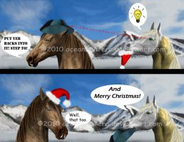Holiday hats by oceans-inferno