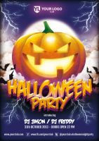 Halloween Party - Flyer Template by doghead