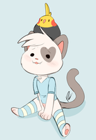Tiny cat by Pastel-Core