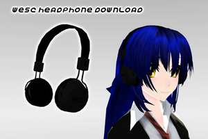 MMD Wesc Headphone DL by supersonicwind69