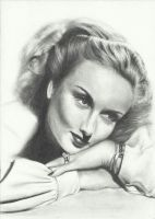 #23: Carole Lombard by DominicDrawsArt