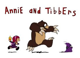 Annie and Tibbers by Driftingwood