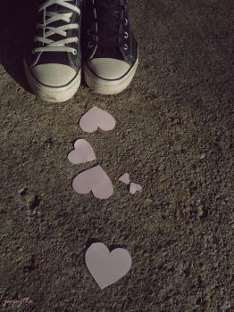 Follow the hearts by pepytta