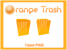 Orange Trash by skingcito