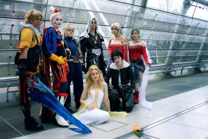 Dissidia - Heroes Dawn by zahnpasta