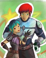 Star wars: Sabine and Aaron by Israel42