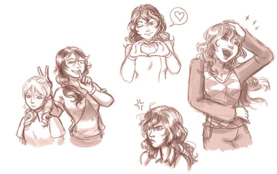 Emily Sketchdump by Yamino