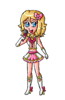 N-pop Idol collab-Serena by ninpeachlover