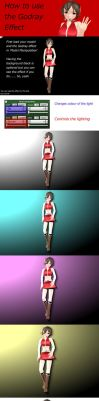 [MMD Tutorial] - How to use the God Ray effect by Reon046